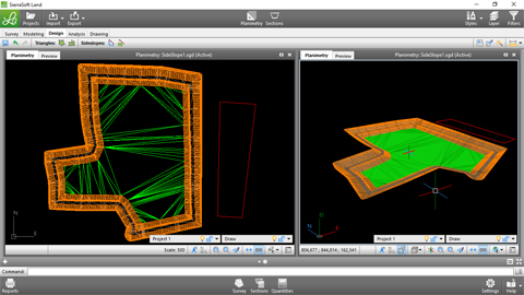 Surface modeling with SierraSoft Land 1/2