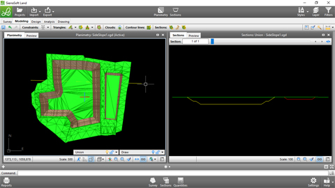 Surface modeling with SierraSoft Land 2/2